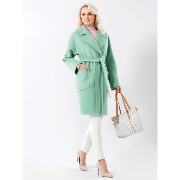 510aeccab35 Купить элегантное женское демисезонное пальто из шерстяной ткани ...